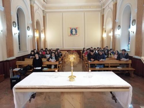 Ritiro dei giovani di Scido e Messignadi in Seminario