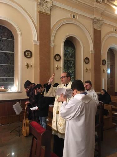 Veglia di preghiera alla Madonna di Lourdes